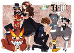 Pokemon B+W: SHOWTIME by cartoongirl7