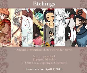 'Etchings' PRE-ORDERS OPEN by cartoongirl7