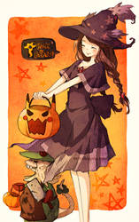 Tricks and Treats by cartoongirl7