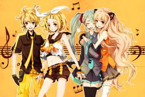 Vocaloid: LEMON DROP by cartoongirl7