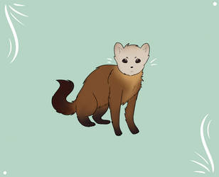 Pine Martin by WingedHeart151