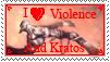 Stamp- I love violence by Jerohan