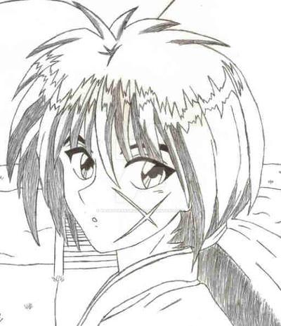 Kenshin Drawing By KagetoraKurosaki