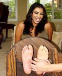Kim Kardashian Tickle Fake
