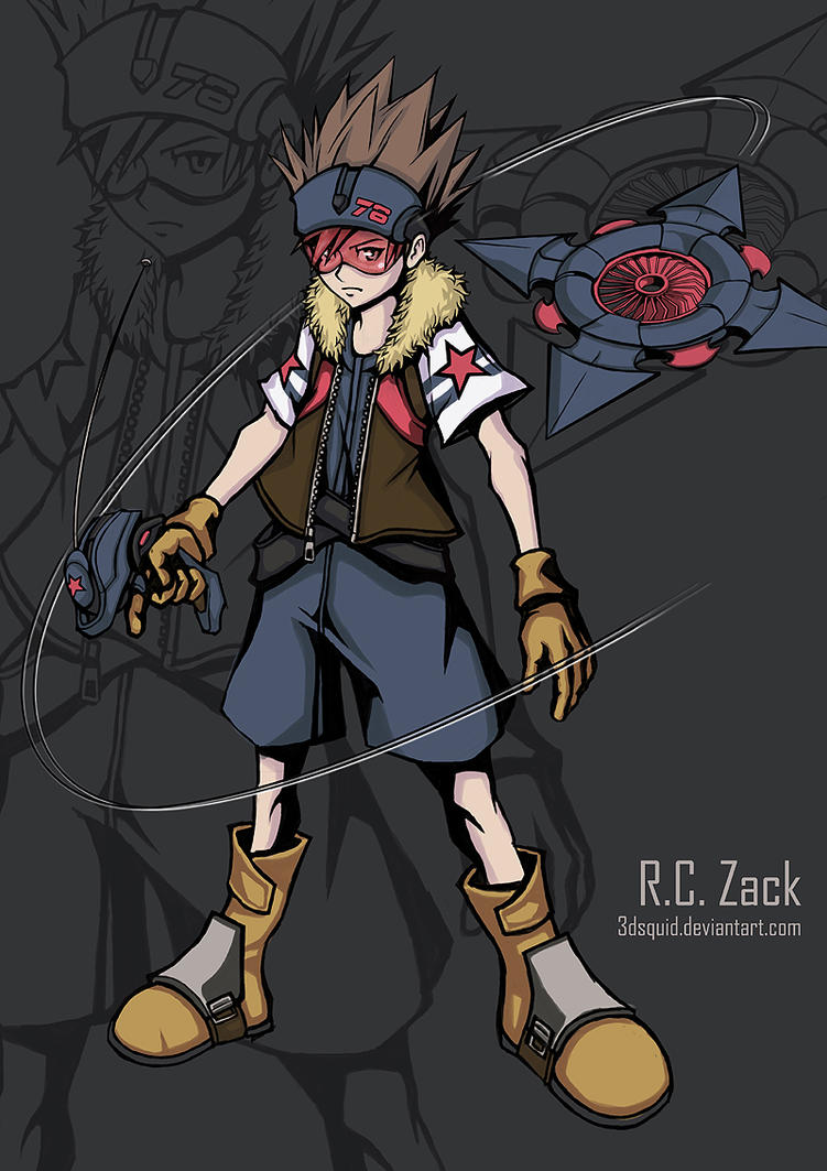 W.E.W.Y Hero : R.C. Zack by 3dsquid