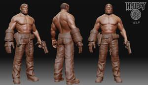 Hellboy W.I.P