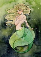 Mermaid by reneenault