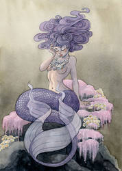 Lavender Mermaid by reneenault