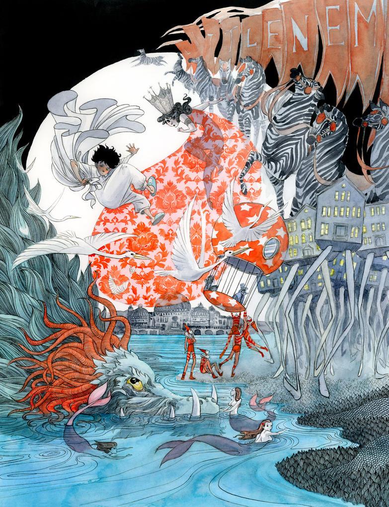 Little Nemo in Slumberland by reneenault
