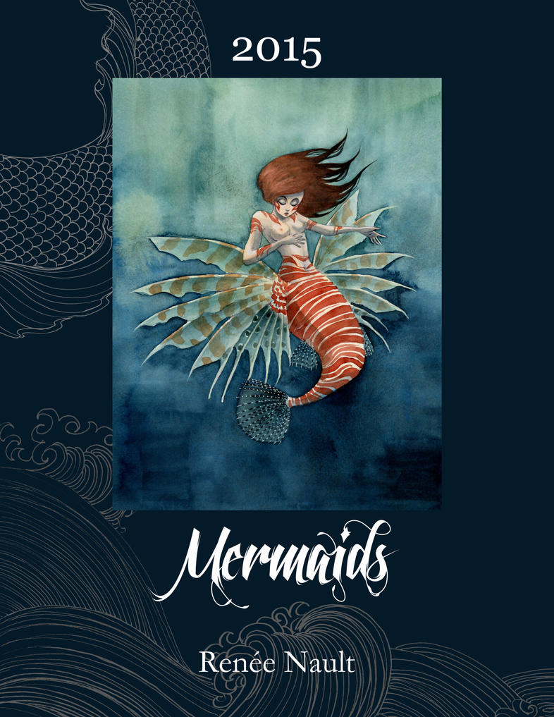 2015 Mermaid Calendar by reneenault