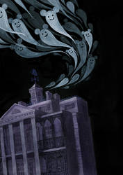 Haunted Mansion by reneenault