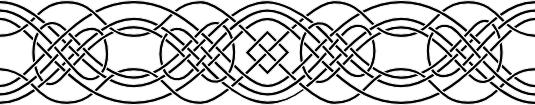 Celtic knotwork border 1