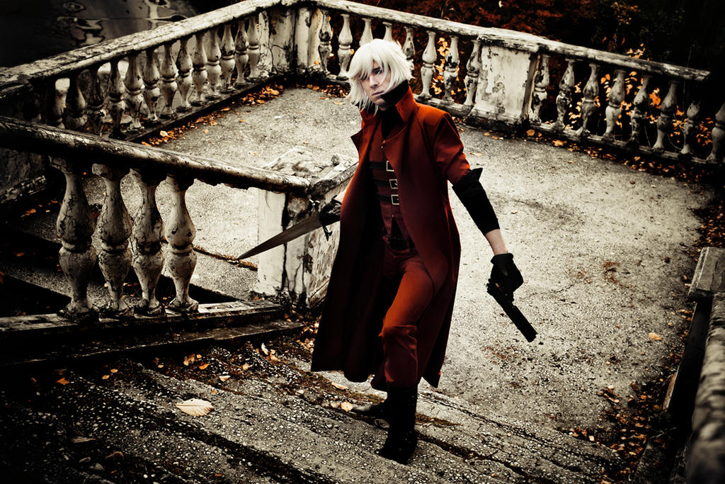 Devil May Cry 1 (DMC) Dante-1 by IcyIrena