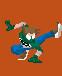 Jonny sprite: kick by Jonny-Aleksey