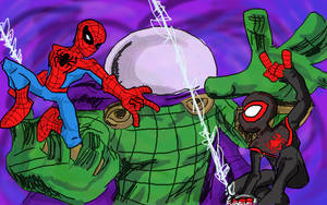 The Spectacular Spider-Men by Jonny-Aleksey