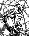 Spider-Man Sketch by Jonny-Aleksey
