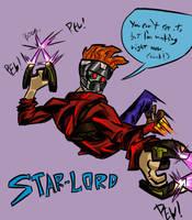 Star-Lord by Jonny-Aleksey