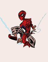 Indian Spider-Man by Jonny-Aleksey