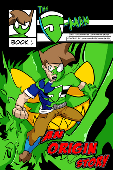 The J-Man Web Series #1 Cover