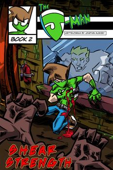 The J-Man Web Series #2 Cover