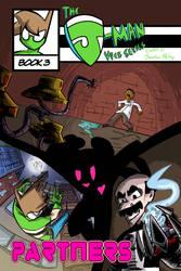 The J-Man Web Series #3 Cover by Jonny-Aleksey