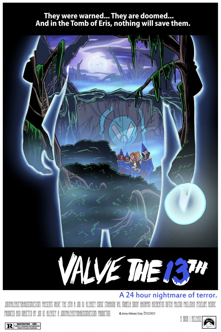 The Valve Web Series x Friday the 13th by Jonny-Aleksey