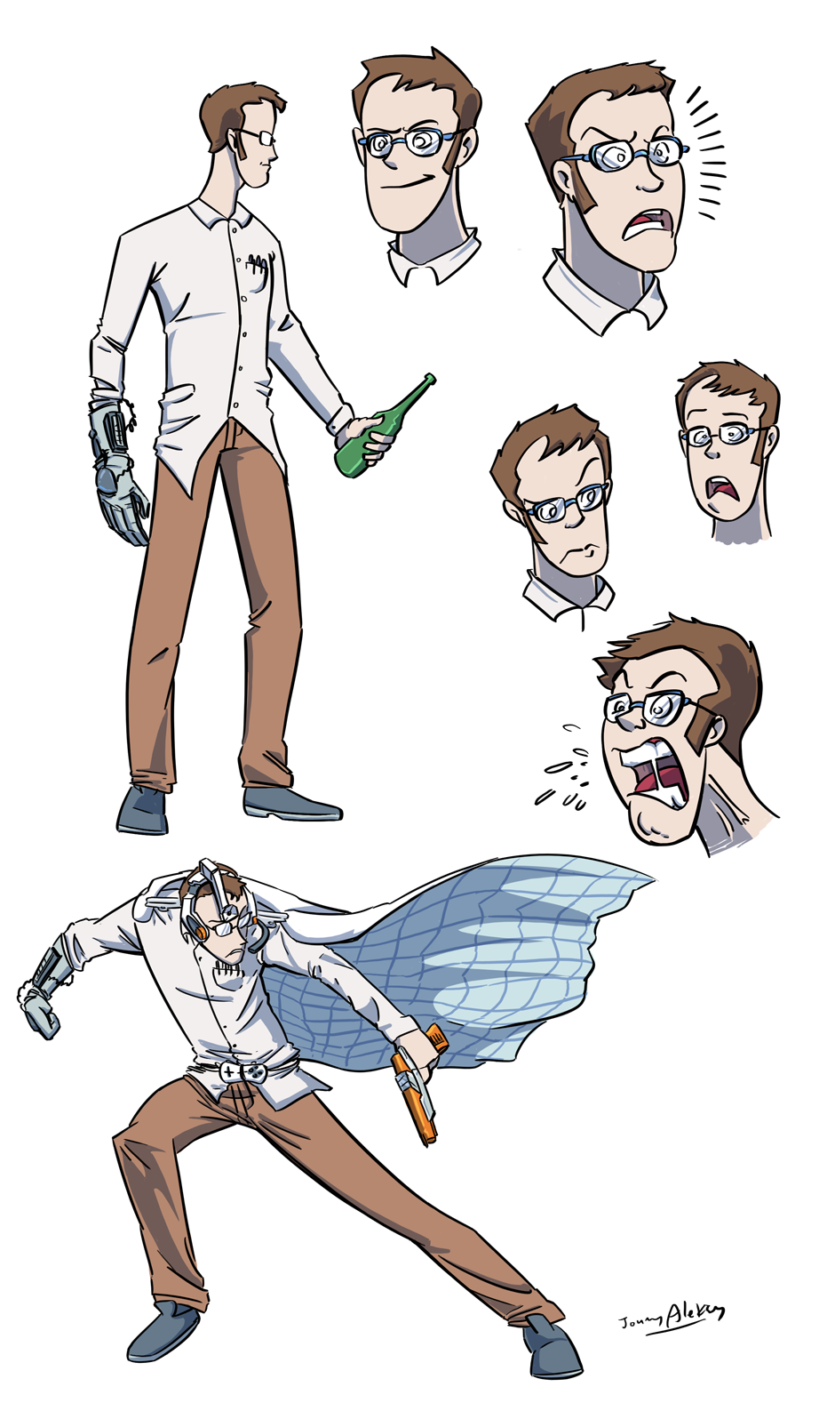 AVGN Sketches by Jonny-Aleksey