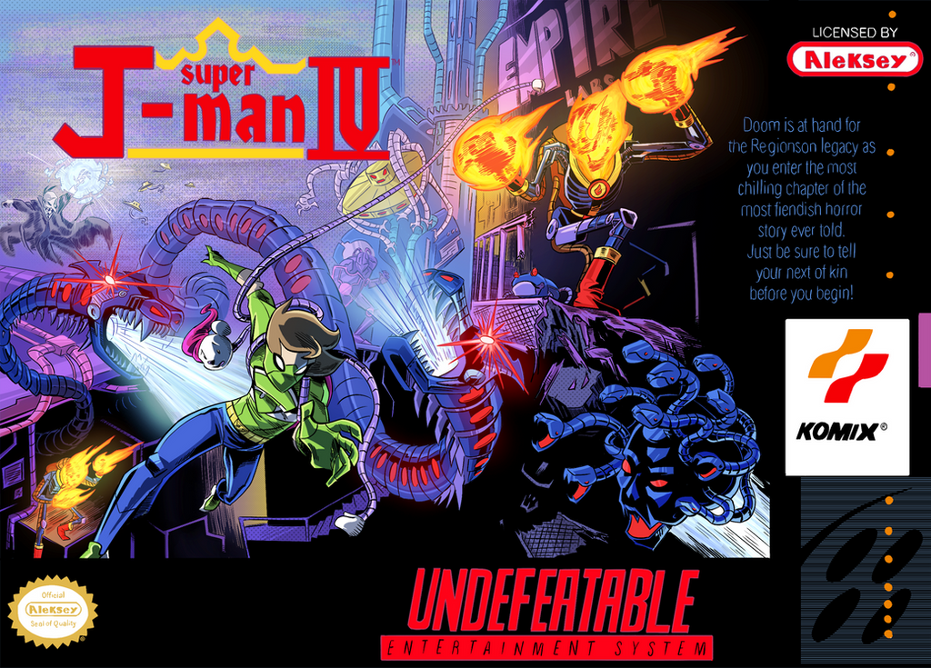 Undefeatable J-Man x Super Castlevania IV by Jonny-Aleksey