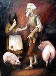 Dulcinea y Quijote