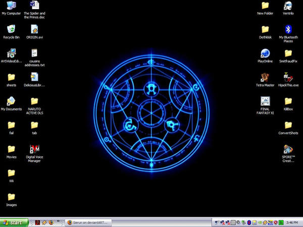 Alchemy Desktop by Sierun