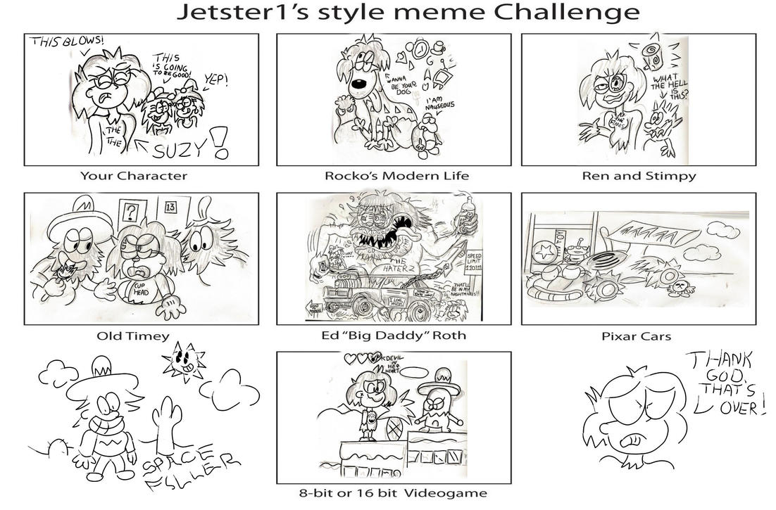 Jetster Style Meme: Suzy Lee by CowboyCrocket