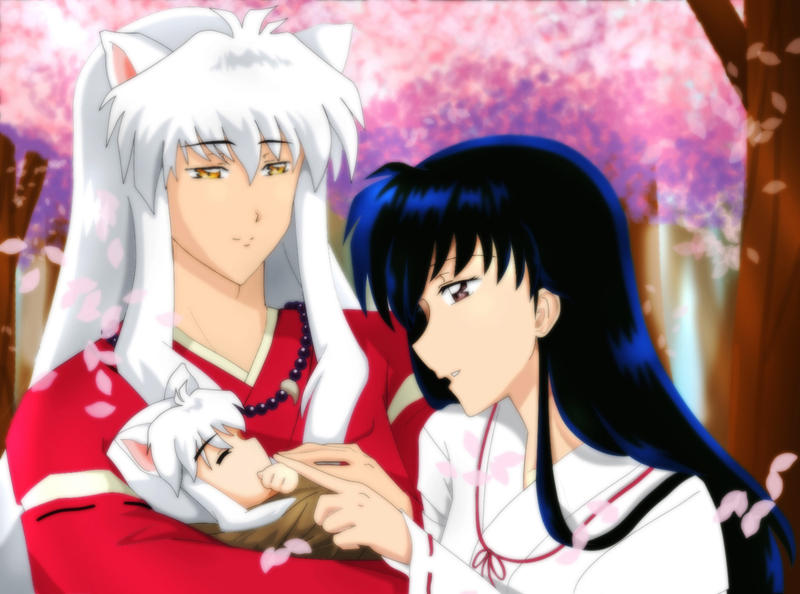 Kagome and InuYasha My Little Baby
