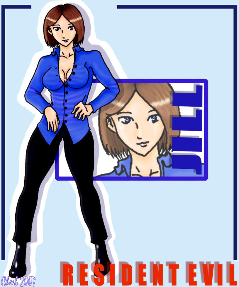 RE3 DC Exclusive Jill Oufit by cheeb