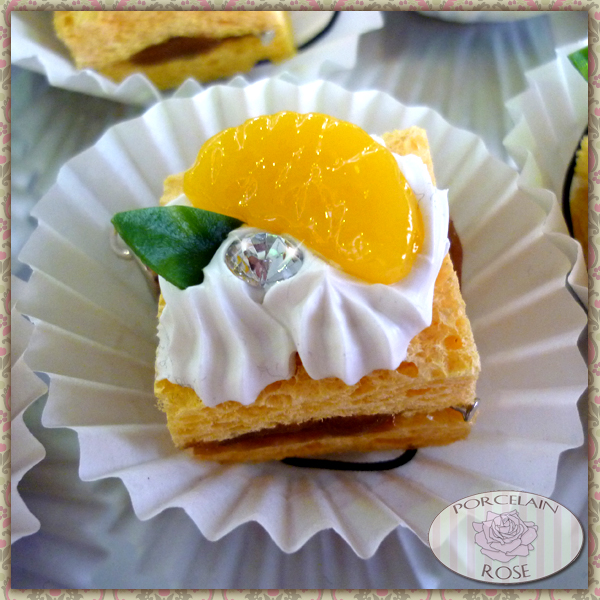 MINI  FAKE MANDARIN CAKE by theporcelainrose