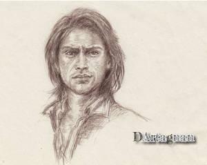 Luke Pasqualino portrait  (The Musketeers)