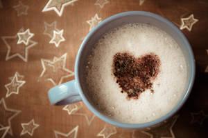 108/365 Cocoa heart by photographybyteri