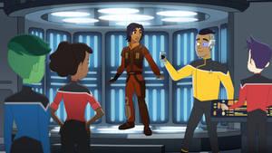 Star Wars Rebels meets Star Trek Lower Decks