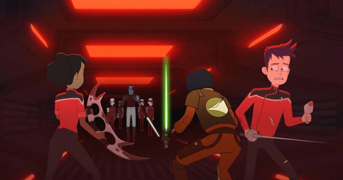Star Wars Rebels meets Star Trek Lower Decks 2
