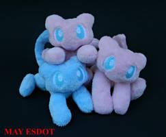 Mew Pile: Custom Handmade Pokemon Beanies