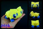 Lifesize Handmade Pokemon Joltik Plush