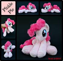 Smiling Baby Beanie Pinkie Pie: MLP Plush by MayEsdot