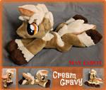 Cream Gravy OC Baby Beanie MLP Plush