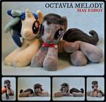 Octavia Melody Baby Beanie MLP Plush