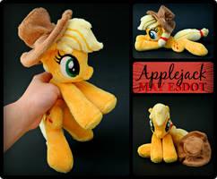 MLP Applejack Beanie Plush by MayEsdot