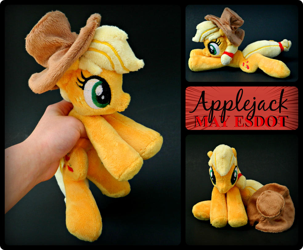 MLP Applejack Beanie Plush by MayEsdot
