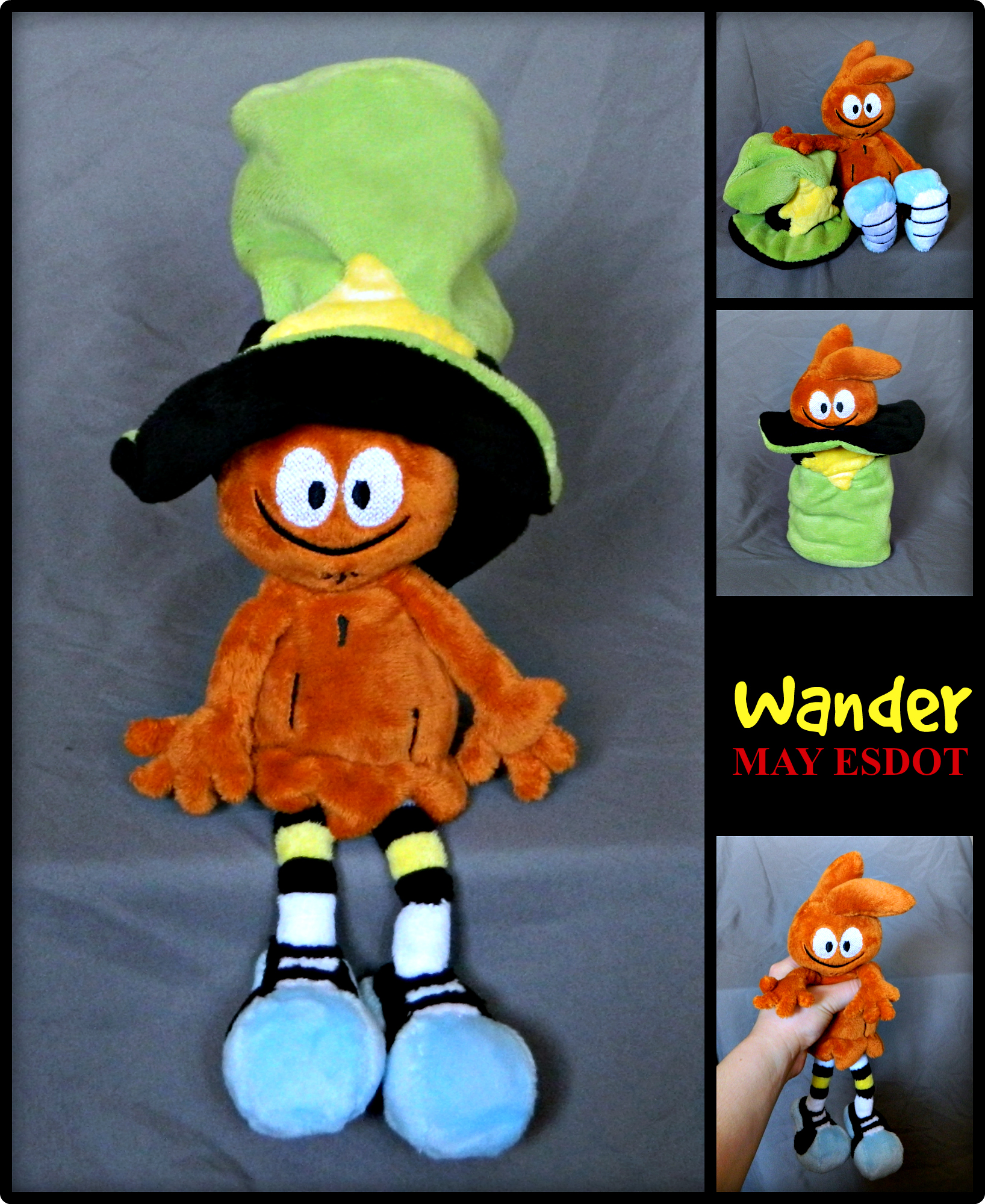 Wander over Yonder Custom Plush Beanie by MayEsdot on ...