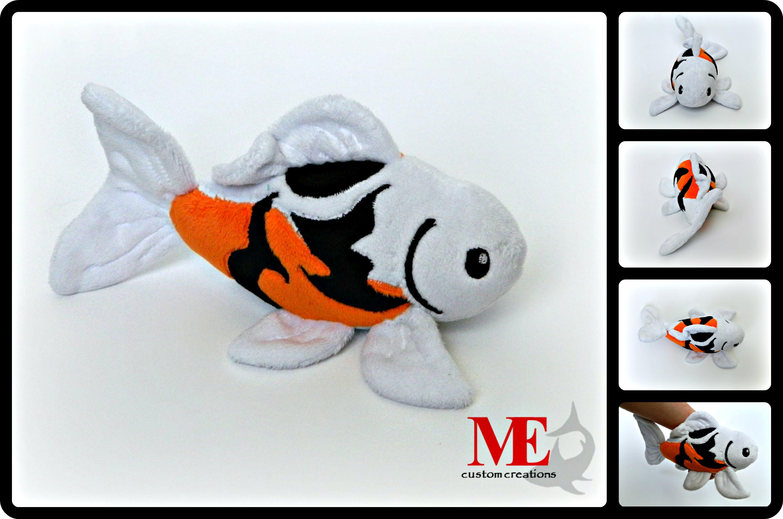Koi fish plush beanie by mayesdot on deviantart for Koi fish plush