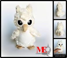 Baby Owl Plush Beanie
