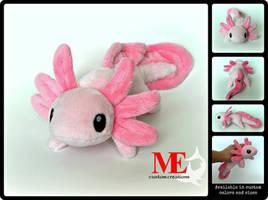 Axolotl Plush Beanie 2 by MayEsdot