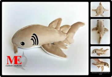 Nurse Shark Beanie Plush